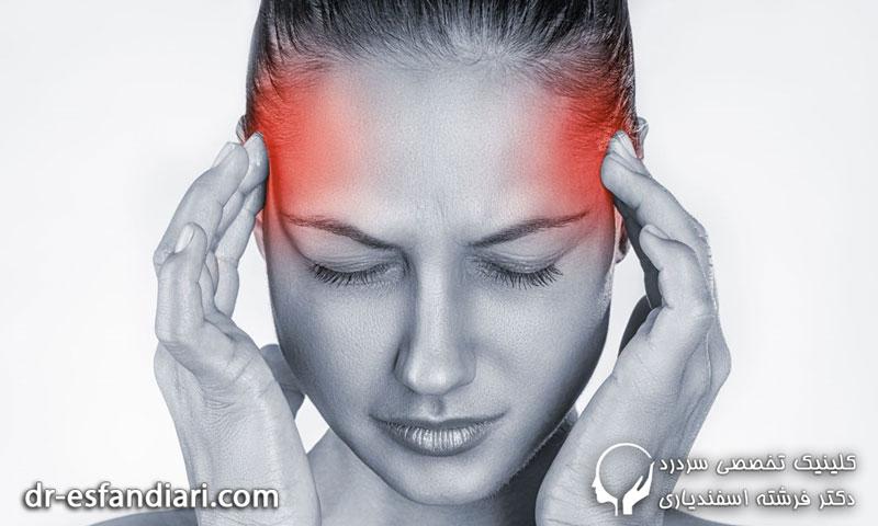 دلایل بروز سردرد