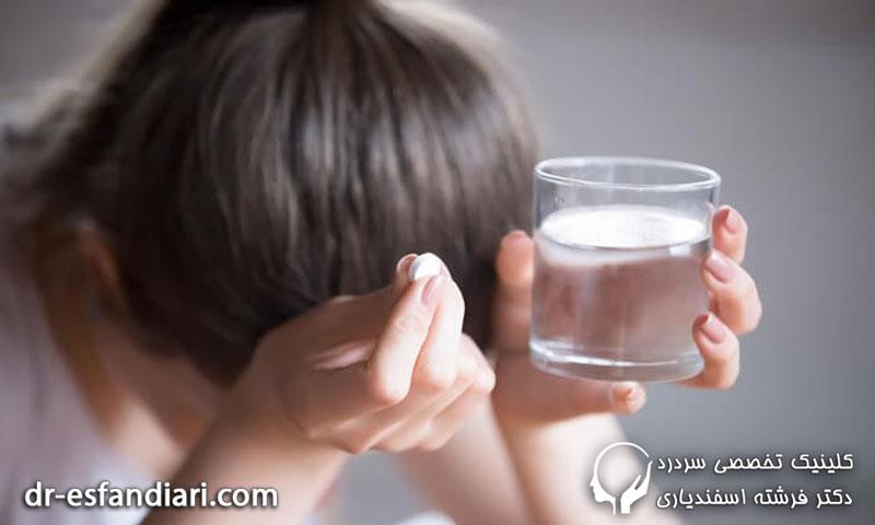درمان سردرد زیر نظر پزشک